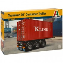 Italeri 20' Container Trailer 1/24 - IT3887