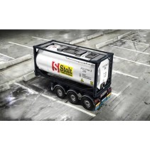 Italeri Tecnokar 20ft Tank Trailer IT3929