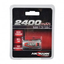 Ansmann Racing 2400mAh Ni-mH 1.2V Sub-C 4050-0006 Battery