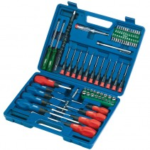 Draper 70 Piece Scewdriver and Bit Set 40850