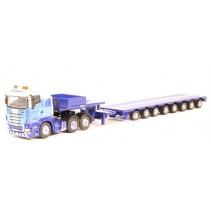 ATLAS MAGJV4102 1/76 Scania R560 Low Cab/Low Loader Lily Jean RV233 Stobat DieC
