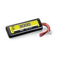 Absima LiPo 7.4V-30C 3000 Hardcase T Plug 4140001
