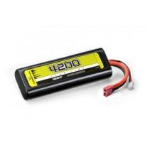 Absima Lipo 7.4V 30C 4200 Hardcase T Plug 4140003
