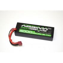 Absima Greenhorn Stick Pack 7.4V-45C 4000 Hardcase T-Plug 4140008