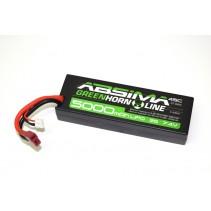 Absima Greenhorn LiPo 7.4V-45C 5000 Hardcase T Plug 4140009