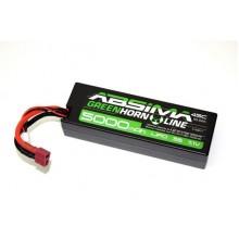 Absima LiPo 11.1V-45C 5000 Hardcase T Plug 4140011