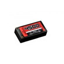 Absima LiPo Shorty 7.4V 110C 4500 Hardcase 5mm Tubes 4150001