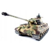 Heng Long German King Tiger Henschel Tank 1/16 Sm+Sh+So 3888A-1