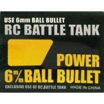 Heng Long Tank BB Pellets 6mm