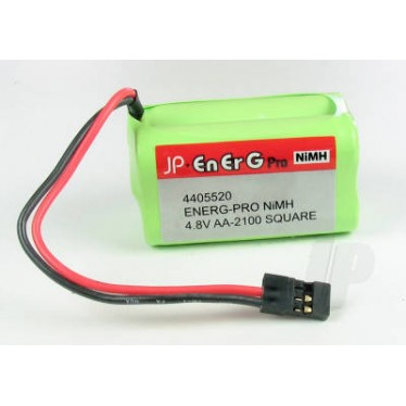 EnErG Pro NiMH 4.8V AA-2100 Square Battery