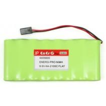 EnErG Pro NiMH 9.6Vk AA-2100C Flat Pack 4405600