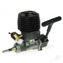 Force 18 Car ABC Rear Exhaust inc. Pull-start (SG-Shaft)