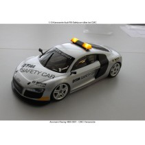 4800-0001 Audi Body R8 Safety Car Silver 1/10