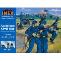 Imex Union Artillery Set 1/72  501