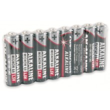 Alkaline AA Batteries (8pcs)