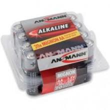 Ansmann 20 x AA Alkaline Batteries