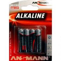 Ansmann Racing Alkaline Red 1.5V AAA micro battery (4) 5015553