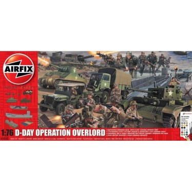 Airfix 50162a D-Day Operation Overlord 1/76