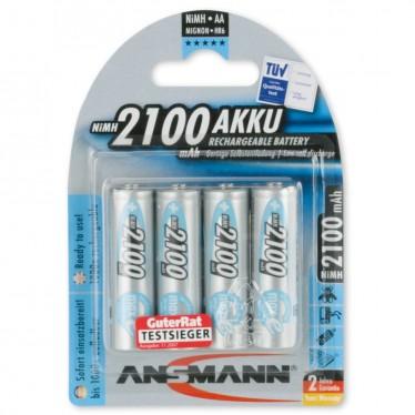 Ansmann maxE Rechargable Battery 4xAA 2100mAh 5035052
