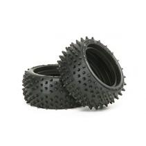Tamiya 6029 Square Spike Rear Tyre (1 pair) 53084