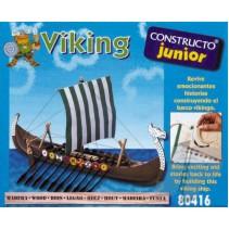 Junior Constructo 80416 Viking Long Boat 25cm