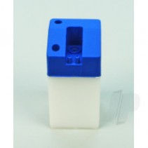 SLEC 4oz Square Fuel Tank (Blue) SL88