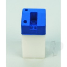 SLEC 4oz Square Fuel Tank (Blue) SL88