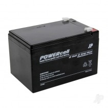 12V 12Ah Powercell Gel Battery