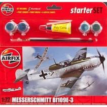 Airfix Messerschmitt Bf109E 1:72 Starter Set A55106