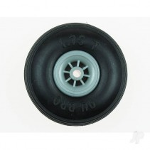 Du-Bro 3in Low Bounce Treaded Wheel DB300T