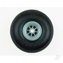 Du-Bro 3.5in Low Bounce Treaded Wheels DB350T