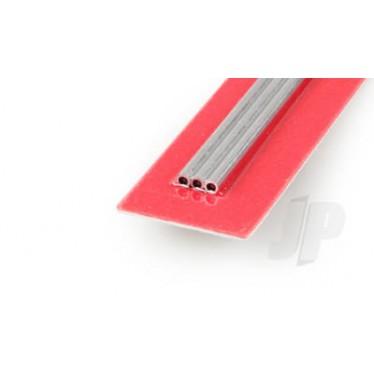 K&S 8101 3/32 x .014 Aluminium Tube (3)