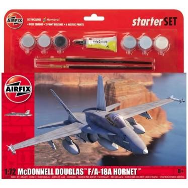 Airfix 553132 McDonnell Douglas F/A-18A Hornet Gift Set 1/72