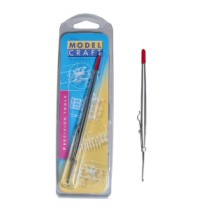 Model Craft Fine Serrated Locking Tweezers PTW1093/FR