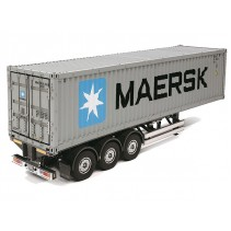 Tamiya 40 foot Container & Semi Trailer 56326 Scale 1/14