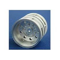 Tamiya 56518 Plated Rear Wheels 22mm Matt (4)