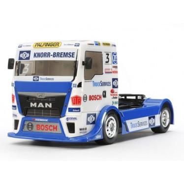 Tamiya Team Hahn Racing MAN TGS TT-01E 1/14 58632 with ESC
