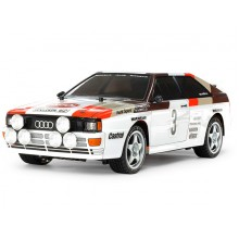 Tamiya Audi Quattro A2 (TT- 02) 58667 inc. ESC and Motor 1/10