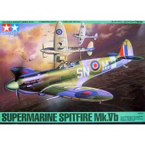 Tamiya 1/48 British Supermarine Spitfire MK.VB Plastic Kit 61033