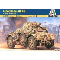 Italeri 6451 Autoblinda AB 43 Pz.Sp.Wg.AB 43 203 (i) Scale 1:35..