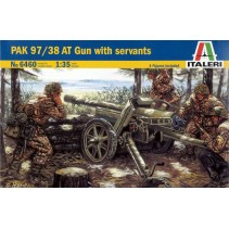PAK 97/38 AT Gun with Servants 1/35