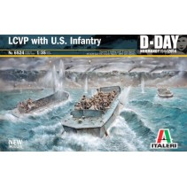 Italeri 6524 LCVP with US Infantry D-Day 1:35