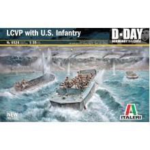 Italeri 6524 LCVP with US Infantry D-Day 1:35