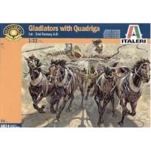 Gladiators with Quadriga 1st-2nd Century A.D. Scale 1:32