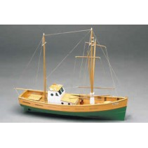 Mantua Amalfi. Mediterranean Fishing Boat 1:35 Kit