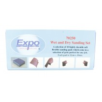 Expo Flexible Sanding Sheet Set 70250