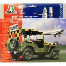 Italeri 70390 Willys Jeep - 'Follow Me' 70390 1:35 Military Model