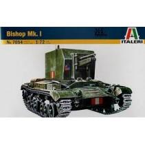 Italeri 7054 Bishop Mk. 1 Scale 1:72..