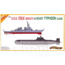 Dragon D7107 USS Cole DDG-67 1/700