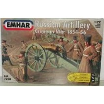 Emhar 7208 Russian Artillery Crimean War 1854-56 Scale 1:72